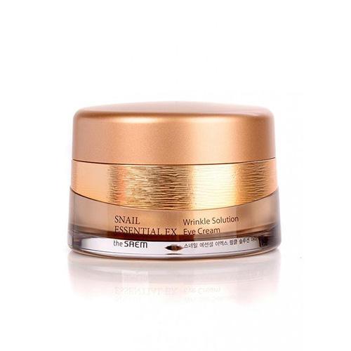 Крем для глаз антивозрастной Wrinkle Solution Eye Cream, 30 мл (The Saem, Snail Essential) недорого