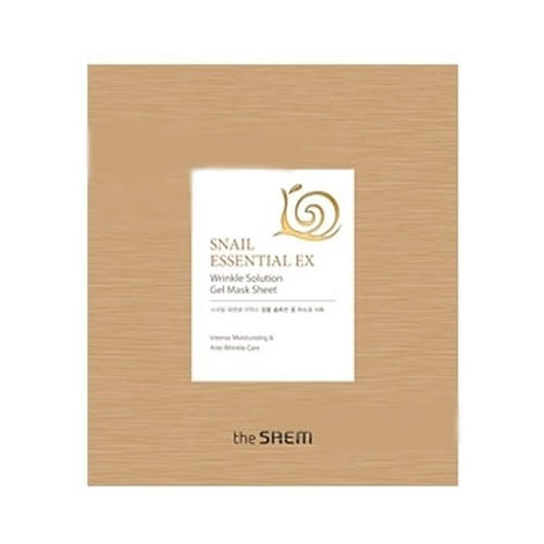 Маска для лица антивозрастная Wrinkle Solution Gel Mask Sheet, 28 г (The Saem, Snail Essential) кремы the saem крем антивозрастной snail essential ex wrinkle solution cream
