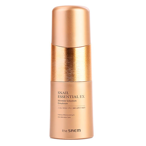 Эмульсия антивозрастная Wrinkle Solution Emulsion, 150 мл (The Saem, Snail Essential) кремы the saem крем антивозрастной snail essential ex wrinkle solution cream