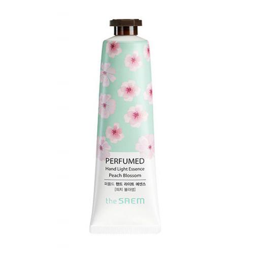 The Saem Легкий парфюмированный крем-эссенция для рук с ароматом персика, 30 мл (Cream)
