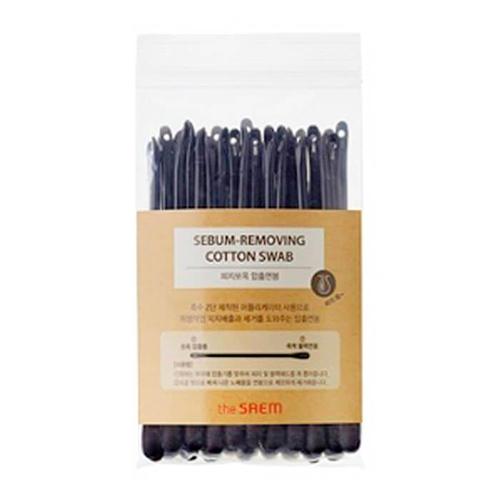лучшая цена Ватные палочки набор для очистки пор SebumRemoving Cotton Swab 220 шт (The Saem, Аксессуары)