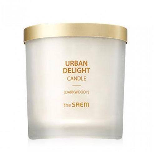 Аромасвеча Candle Darkwoody, 160 г (The Saem, Urban Delight) аромасвеча 20 см