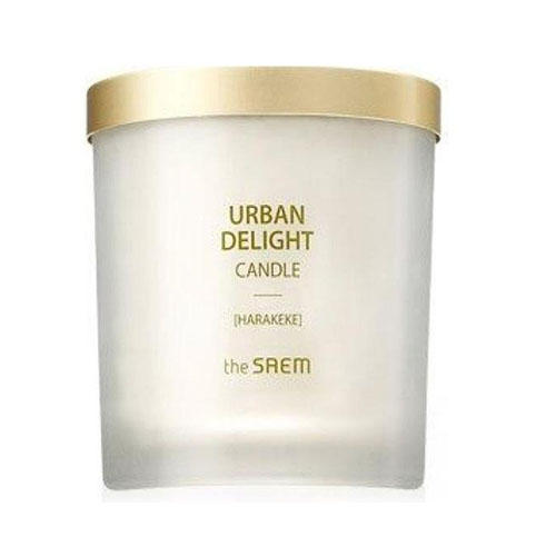 Аромасвеча Candle Harakeke, 160 г (The Saem, Urban Delight) аромасвеча 10 см