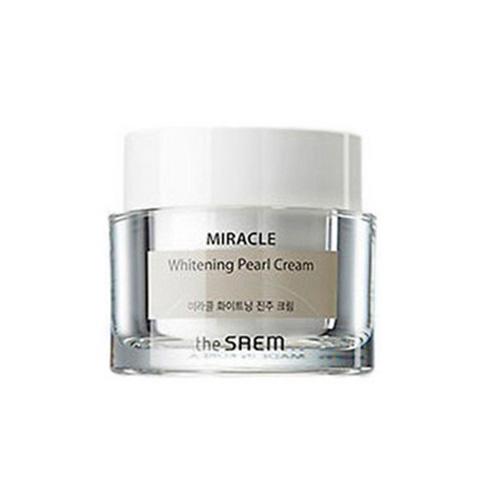 Крем дневной осветляющий Pearl Cream, 50 мл (The Saem, Miracle) крем осветляющий кожу в интимных местах