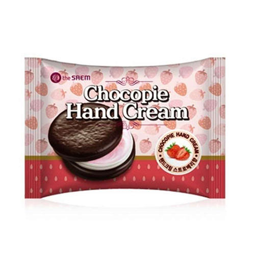 Крем для рук Chocopie Hand Cream Strawberry, 35 мл (The Saem, Hand) крем the saem perfumed hand cream lilac