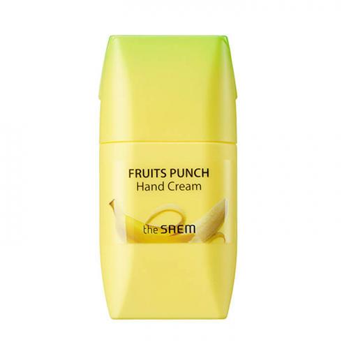 цена на Крем для рук банановый пунш Banana Hand Cream, 50 мл (The Saem, Fruits Punch)
