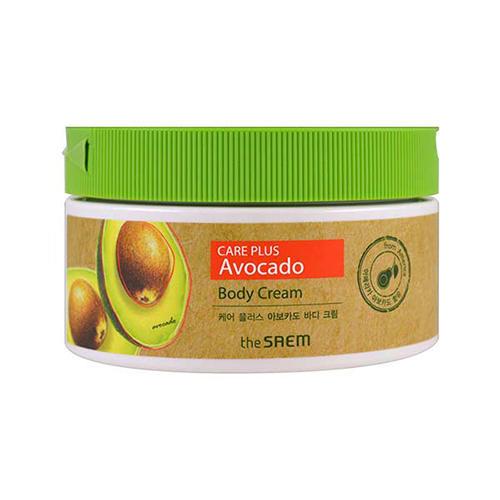 Крем для тела с экстрактом авокадо Avocado Body Cream, 300 мл (The Saem, Care Plus) крем очищающий авокадо avocado cleansing cream 300 мл the saem natural condition
