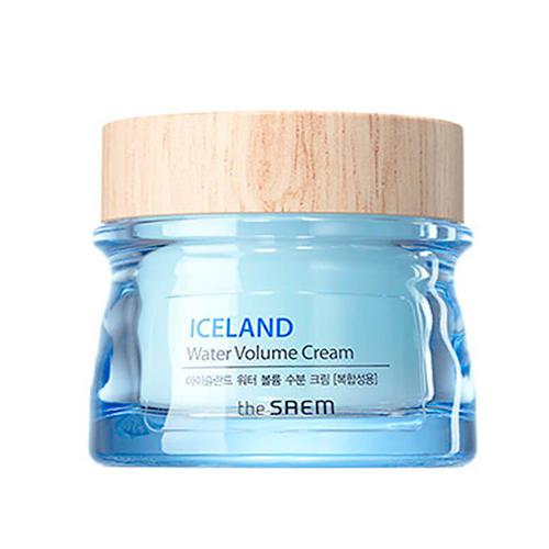 Крем минеральный Water Volume Hydrating Cream For Combination Skin, 80 мл (The Saem, Iceland Hydrating)