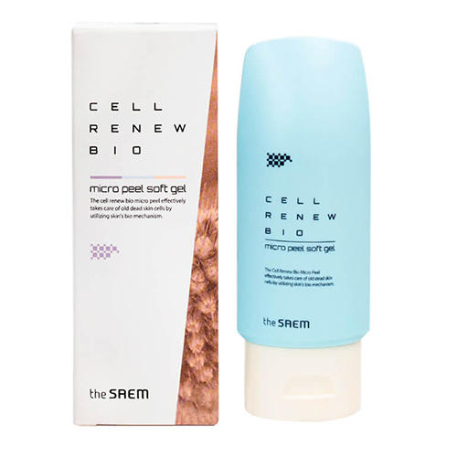 Гельскатка Micro Peel Soft Gel, 160 мл (The Saem, Cell Renew Bio)