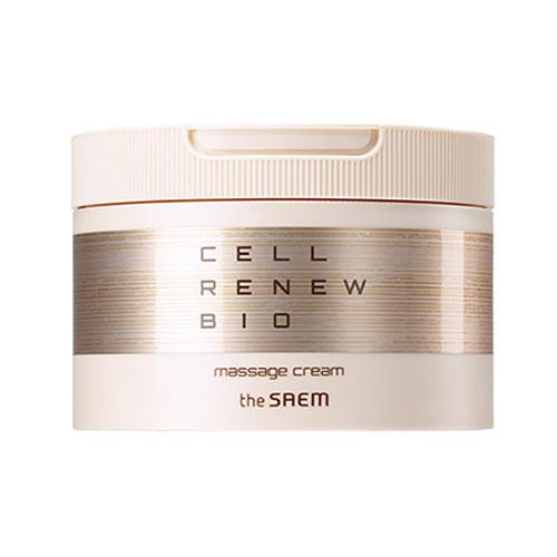 все цены на Крем антивозрастной массажный Massage Cream, 200 мл (The Saem, Cell Renew Bio) в интернете