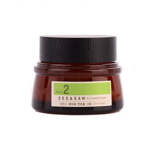 Купить The Saem Крем для контроля чистоты и жирности кожи See & Saw AC Control Cream, 60 мл (The Saem, A.C Control), Южная Корея