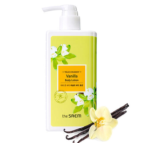 Лосьон для тела ванильный Vanilla Body Lotion, 300 мл (The Saem, Touch on body) the saem perfumed hand moisturizer vanilla