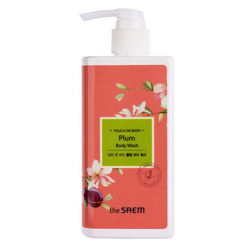 Гель для душа слива Plum Body Wash, 300 мл (The Saem, Touch on body) гель для душа грейпфрутовый grapefruit body wash 300 мл the saem touch on body page 7