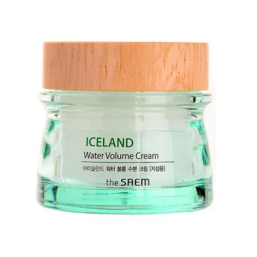 Крем минеральный Water Volume Hydrating Cream For Oily Skin, 80 мл (The Saem, Iceland Hydrating) the saem iceland hydrating toner тонер увлажняющий минеральный 160 мл