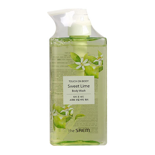 Гель для душа сладкий лайм Sweet Lime Body Wash, 300 мл (The Saem, Touch on body) davines oi body wash with roucou oil absolute beautifying body wash гель для душа 250 мл