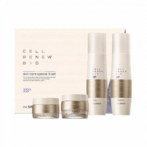 Набор уходовый антивозрастной Cell Renew Bio Skin Care Special 3 Set 1 шт (The Saem, Cell Renew) тонер со стволовыми клетками the saem cell renew bio toner