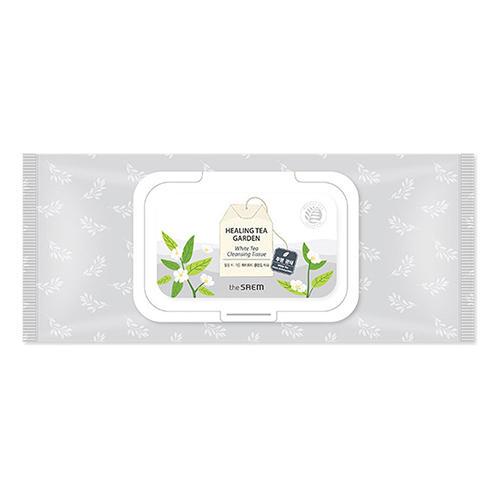 Фото - Салфетки очищающие с экстрактом белого чая Healing Tea Garden White Tea Cleansing Tissue, 240 г (The Saem, Garden Pleasure) tea garden