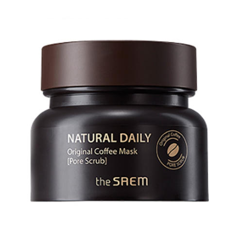Маска для лица кофейная Natural Daily Original Coffee Mask, 100 г (The Saem, Daily) skinfood black sugar strawberry маска смываемая для лица black sugar strawberry маска смываемая для лица