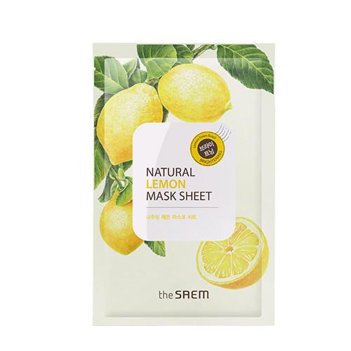 Тканевая маска с  экстрактом лимона, 21 мл (Mask)