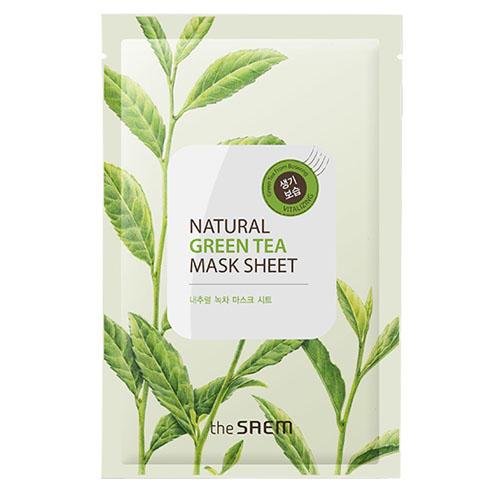 Тканевая маска с экстрактом зеленого чая, 21 мл (Mask)
