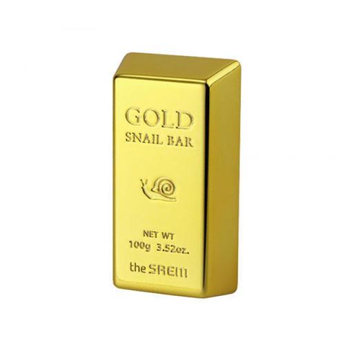 The Saem Мыло для умывания с экстрактом золота, муцина улитки и оливы, 100 гр (Cleansing)