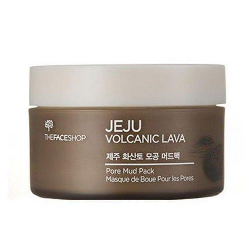 Маска для лица с вулканической лавой Jeju Volcanic Lava pore mud pack 100 мл (The Face Shop, Jeju) фото 0