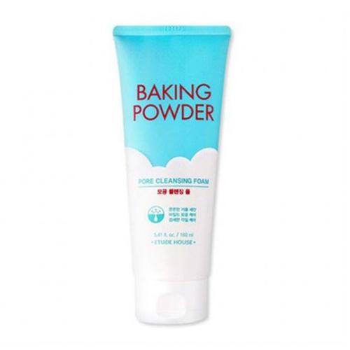 цена на Пенка для умывания тройного действия Baking Powder Pore Cleansing Foam, 160 мл (Etude House, Baking Powder)