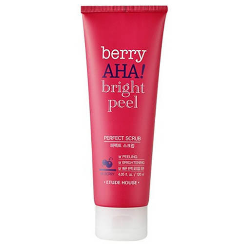 купить Скраб для лица Berry Aha Bright Peel Perfect Scrab, 120 мл (Etude House, Berry Aha) онлайн