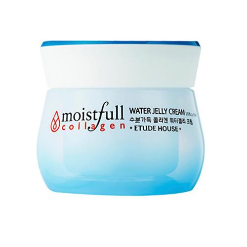 Кремгель для лица увлажняющий с коллагеном Moistfull Collagen Water Jelly Cream, 75 мл (Etude House, Collagen) стик для лица увлажняющий с коллагеном moistfull collagen stick 14 г etude house collagen