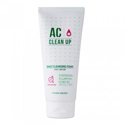 Пенка для умывания Ac Cleanup Daily Acne Cleansing Foam, 150 мл (Etude House, Ac Clean Up)