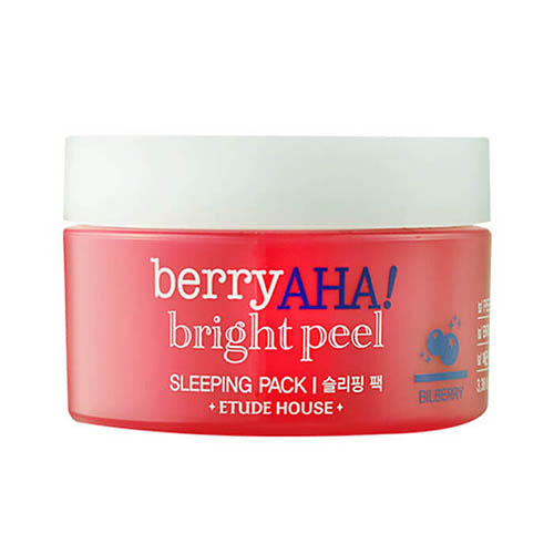 Маска ночная отшелушивающая Berry Aha Bright Peel Sleeping Pack, 100 мл (Etude House, Berry Aha) цена