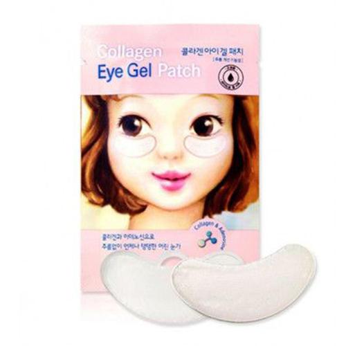 Патчи для кожи вокруг глаз Collagen Eye Patch AD, 4 г (Etude House, Et.) стик для лица увлажняющий с коллагеном moistfull collagen stick 14 г etude house collagen