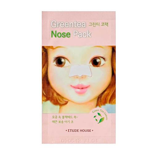 Патч очищающий для носа Greentea Nose Pack AD, 0,65 мл (Etude House, Et.) маска etude house greentea nose pack 1 упаковка