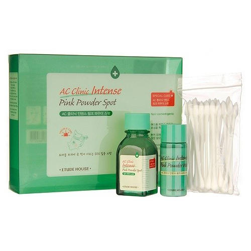 Набор для проблемной кожи AC Clinic Intense Pink Powder Spot Set, 20 мл15 мл (Etude House, AC Clinic) цена