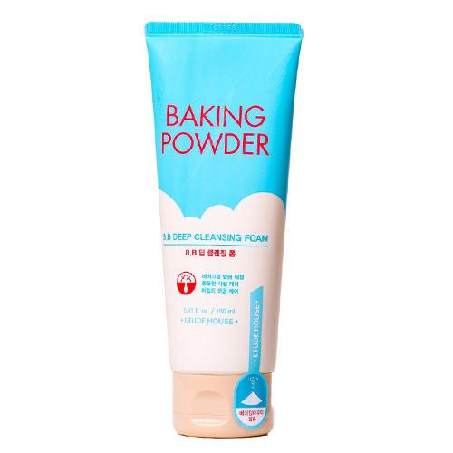 Пенка для умывания BB Deep Cleansing Foam, 160 мл (Etude House, Baking Powder) цена и фото