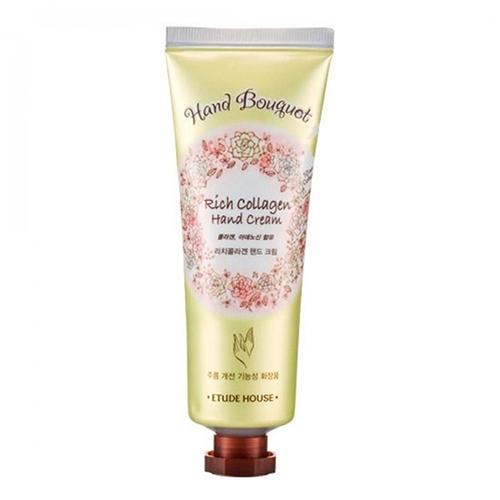 Крем для рук с коллагеном Hand Bouguet Rich collagen Hand Cream, 50 мл (Etude House, Hand bouguet)