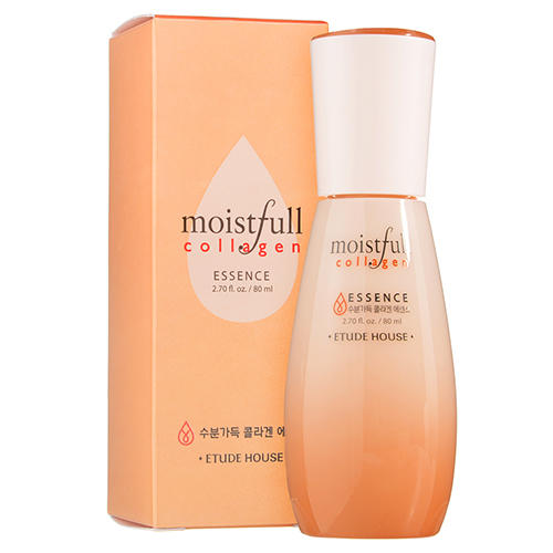 Эссенция для лица коллагеновая Moistfull Collagen Essence, 80 мл (Etude House, Collagen) тонер коллагеновый moistfull collagen toner 200 мл etude house collagen
