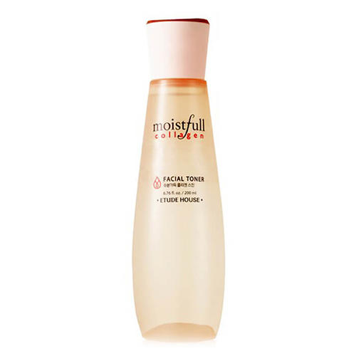 Тонер коллагеновый Moistfull Collagen Toner, 200 мл (Etude House, Collagen) тонер коллагеновый moistfull collagen toner 200 мл etude house collagen