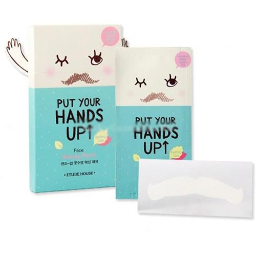 Патчи восковые Put Your Hands Up Face Waxing Patch, 100,5 г (Etude House, Et.)
