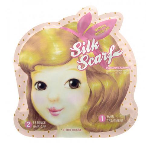 Маска для волос восстанавливающая Double Care Hair Mask, 15 мл5 мл (Etude House, Silk Scarf) цена