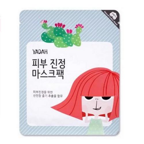 Купить Yadah Маска для лица тканевая успокаивающая, 25 гр (Yadah, Для проблемной кожи), https://www.pharmacosmetica.ru/files/pharmacosmetica/reg_images/ЭХ9906753.jpg
