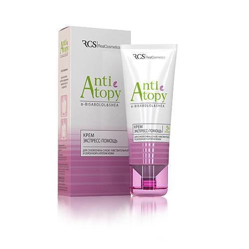 Крем экспресс-помощь для сухой, чувствительной и склонной к атопии кожи 40 мл (Уход за сухой кожей)