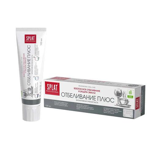 Лечебнопрофилактическая профессиональная зубная паста Отбеливаине Плюс 100 мл (Splat, Professional) стоимость