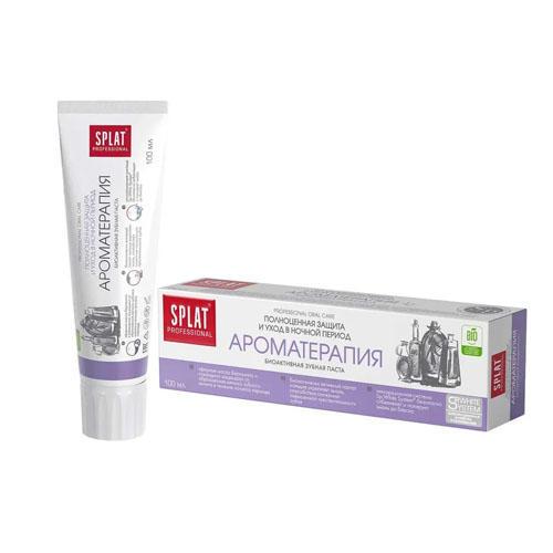 Лечебнопрофилактическая профессиональная зубная паста Ароматерапия 100 мл (Splat, Professional) стоимость