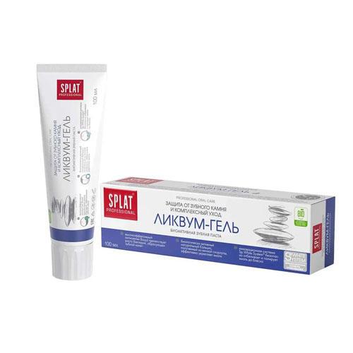 Лечебнопрофилактическая профессиональная зубная паста Ликвум гель 100 мл (Splat, Professional)