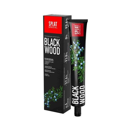 Специальная отбеливающая зубная паста Черное дерево 75 мл (Splat, Special) зубная паста medical herbs 40 splat зубная паста medical herbs 40
