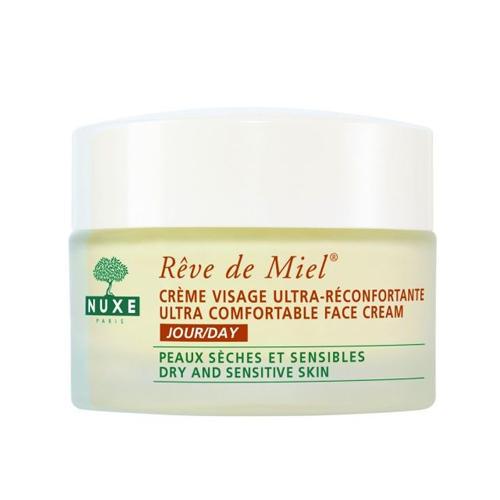 Рэв Де Мьель Дневной крем для лица 50 мл (Nuxe, Reve De Miel) nuxe reve de miel ultra comfortable face cream night крем для лица ночной 50 мл