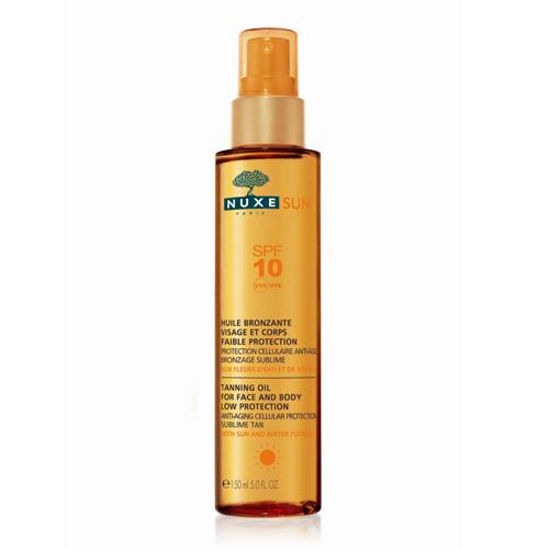 Nuxe Sun Тонирующее масло д/лица и тела SPF10, 150 мл (Nuxe Sun)