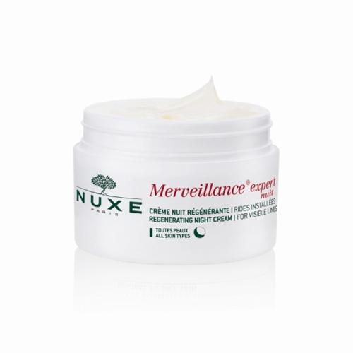 Nuxe Восстанавливающий ночной крем Мервейанс эксперт 50 мл (Merveillance)