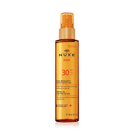 Тонирующее масло для лица и тела SPF30, 150 мл (Nuxe, Nuxe Sun) nuxe масло для тела купить